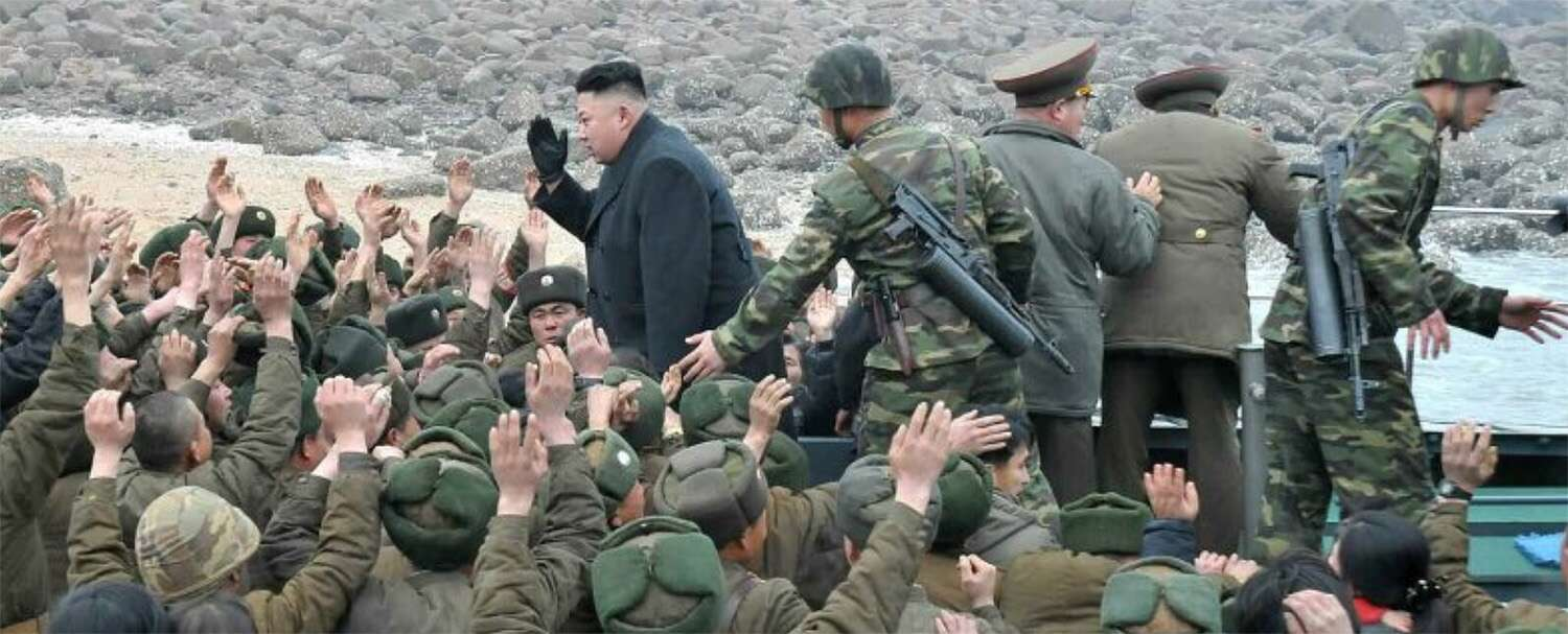 It turns out that Kim doesn't just have a Secret Service-like agency tasked with his protection. He has his own 100,000 man army with a stove-pipe command structure that reports directly to him. This elite unit is known as Guard Command.