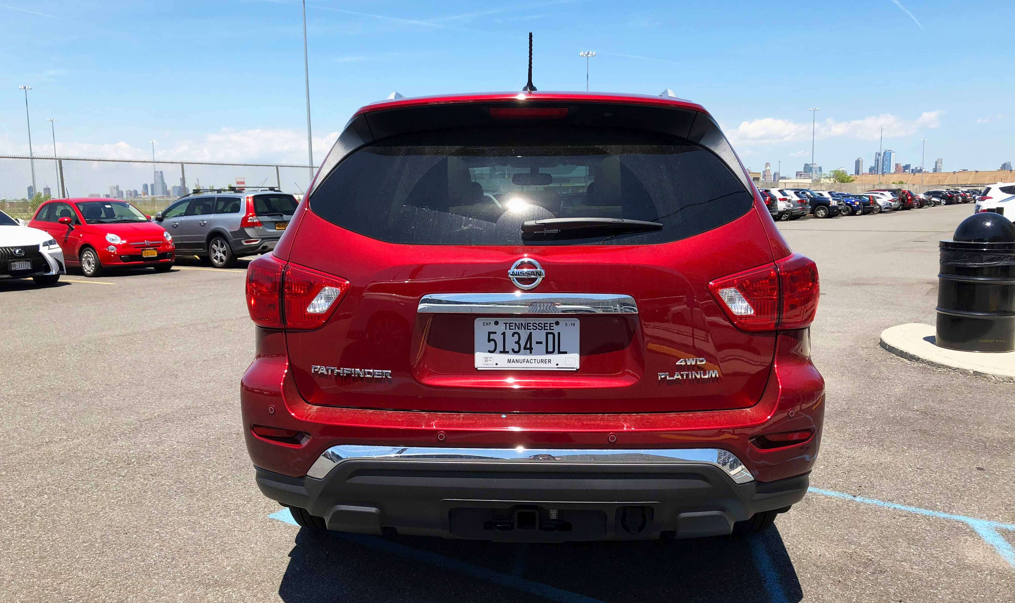 2018 Nissan Pathfinder Review The Very Model Of A Good Enough Suv