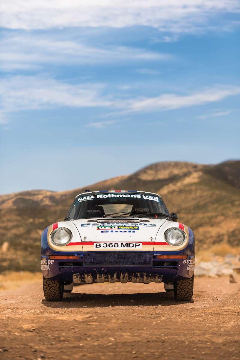 Paris Dakar Porsche 959 Rally Car Is Headed To Auction For 3