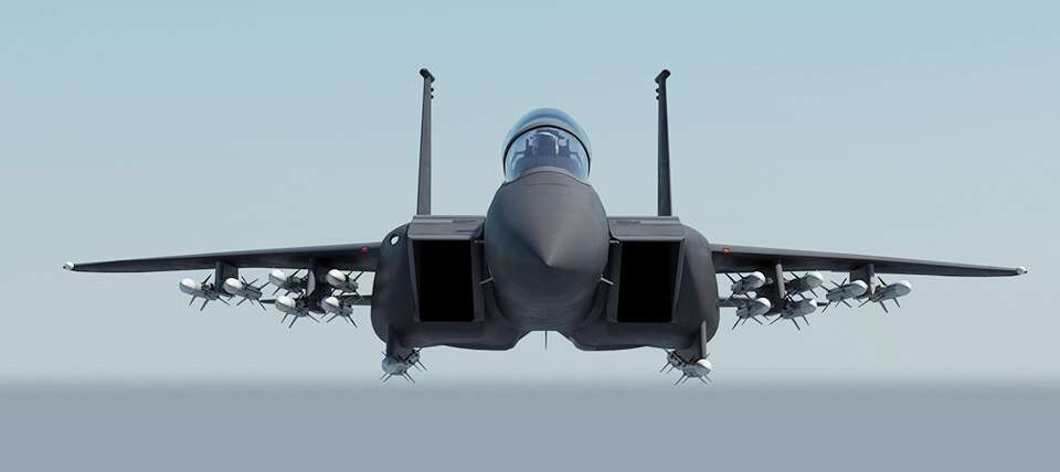 exclusive unmasking the f 15x boeing s f 15c d eagle replacement