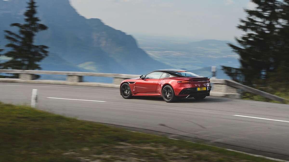 Aston Martin DBS Superleggera First Drive Review A Hooligan - Aston martin dbs