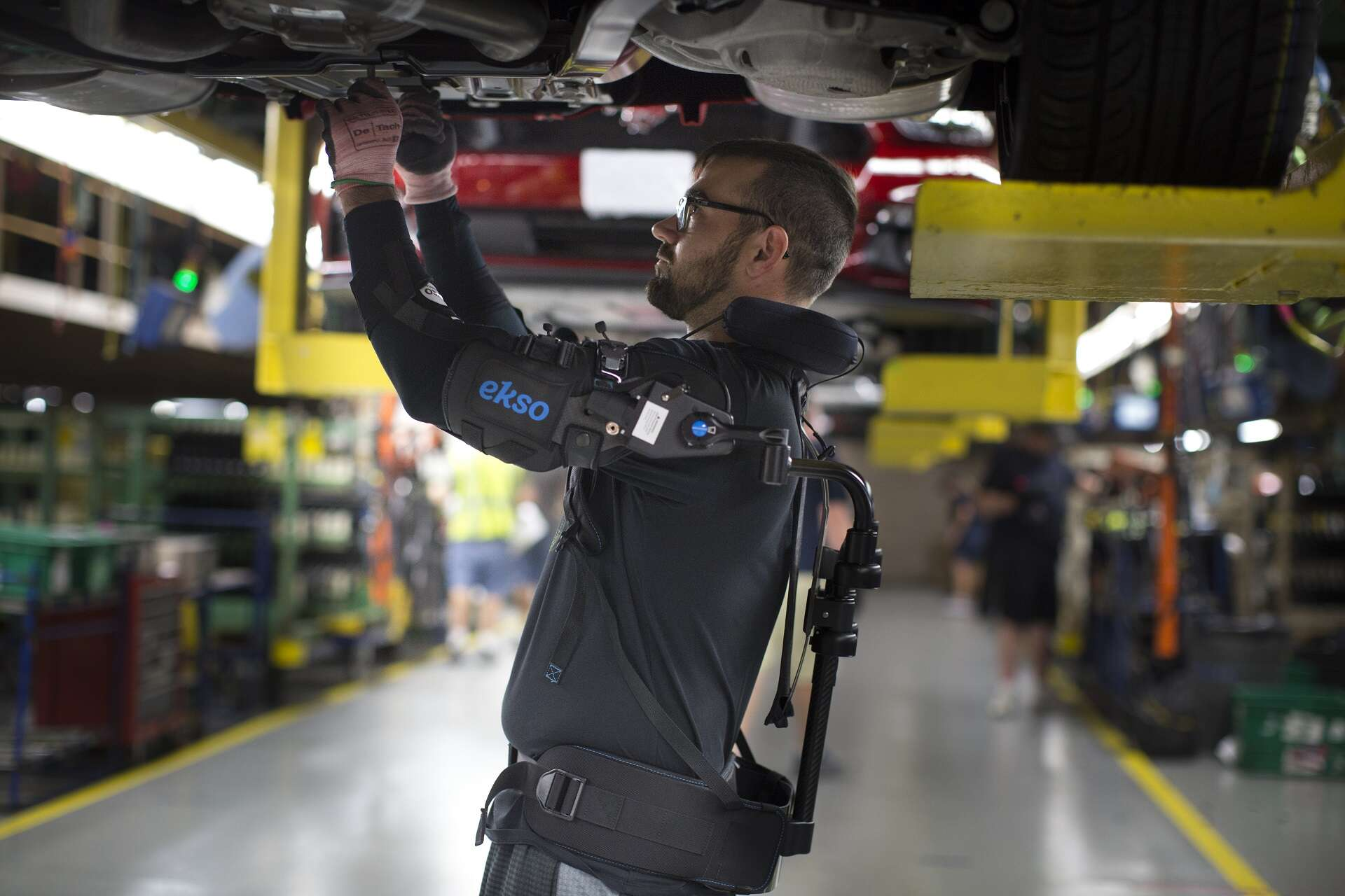 Ford Rolls Out Robot-Like Exoskeleton to Assembly Line Workers Worldwide