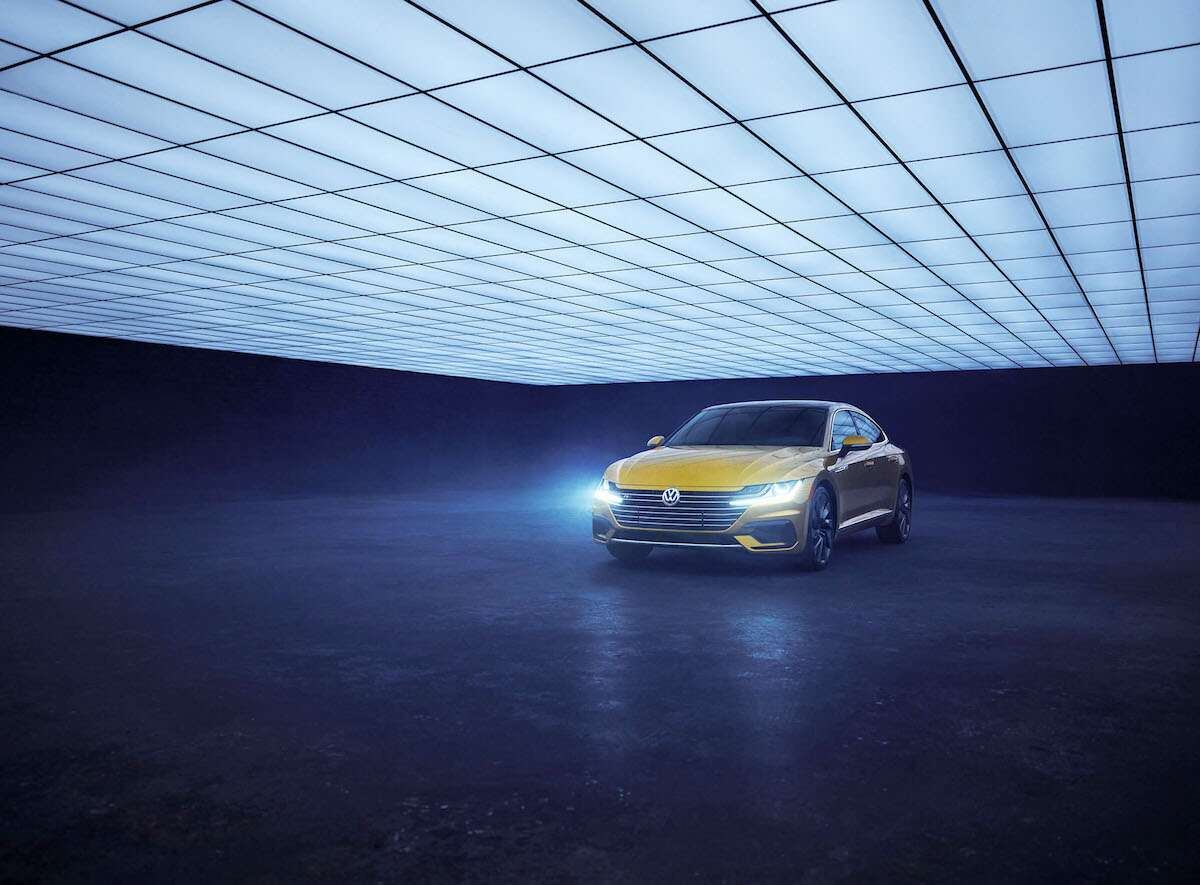 The New Volkswagen Arteon Goes Retro In Latest Photo Shoot The Drive
