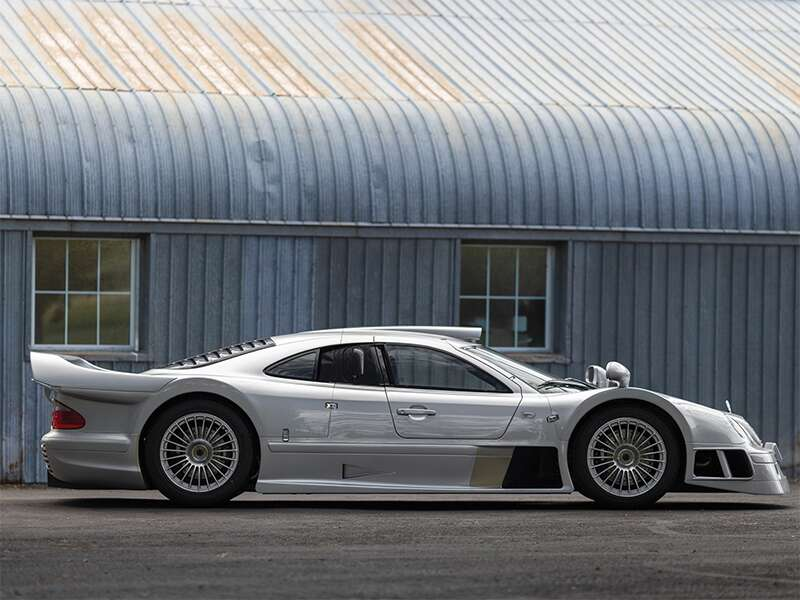 There's a Mercedes-Benz AMG CLK GTR Headed for Auction Aug