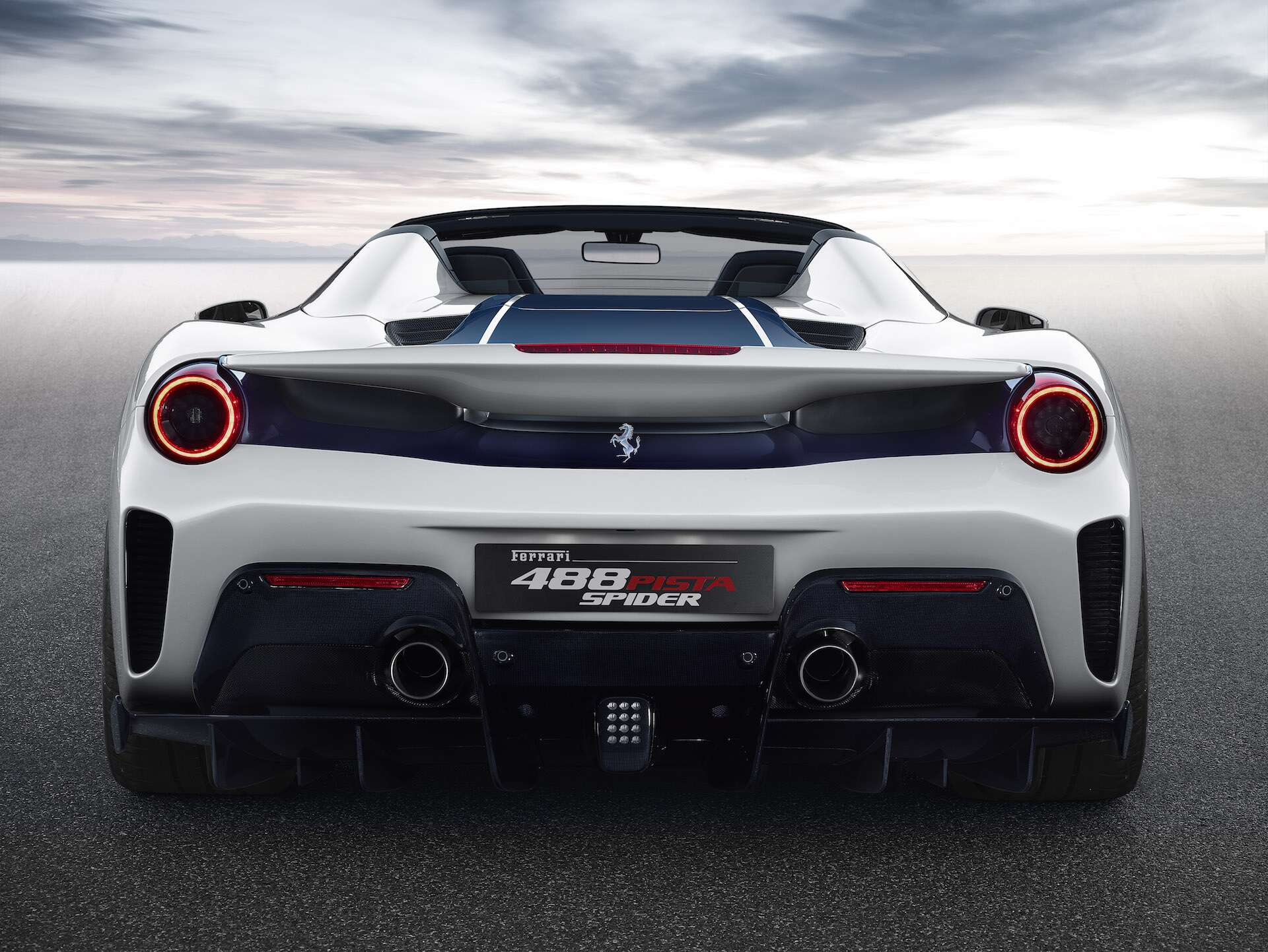 2019 Ferrari 488 Pista Spider Surprises At Pebble Beach The Drive
