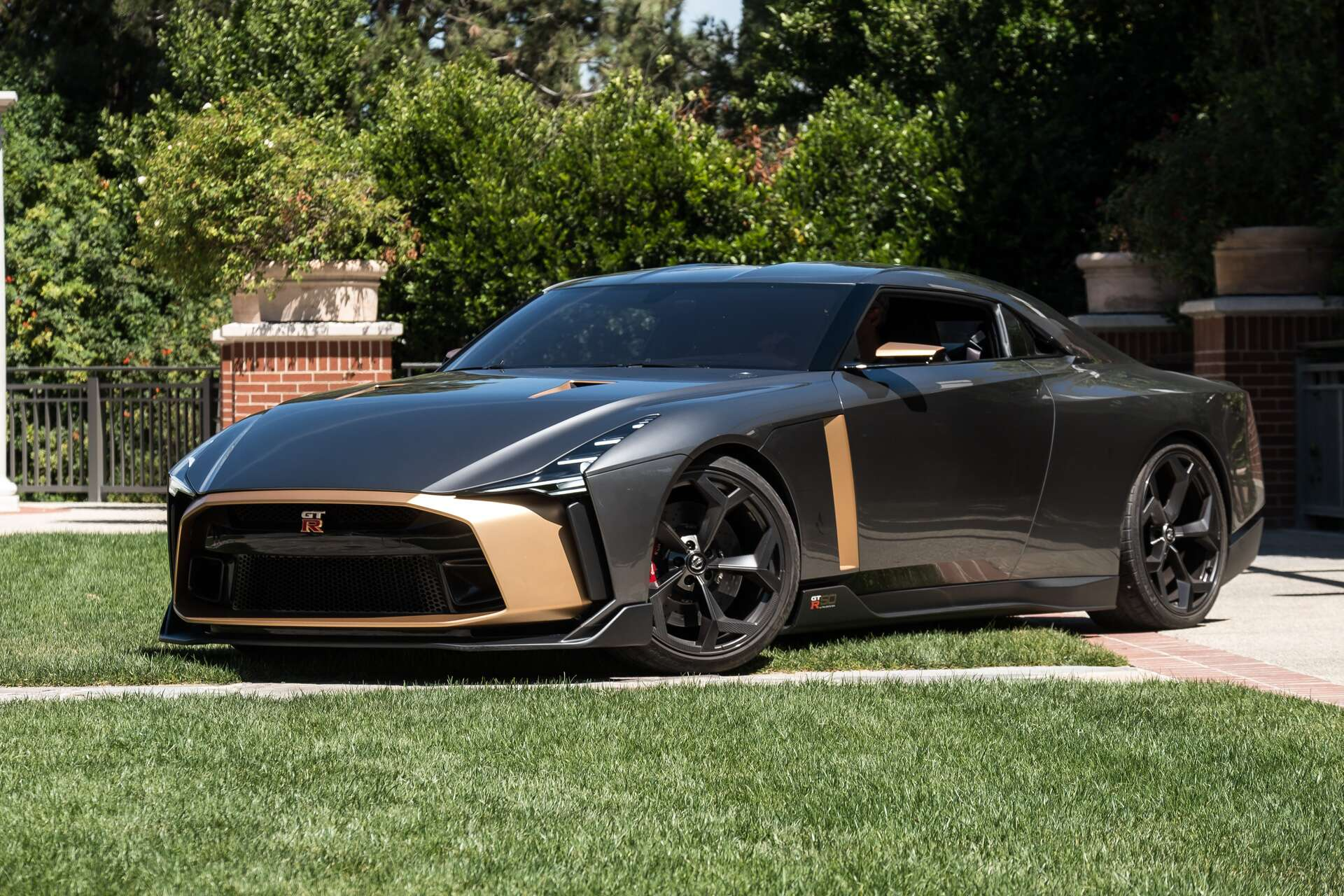 Driving The 720 Hp Nissan Gt R50 By Italdesign Prototype Godzilla