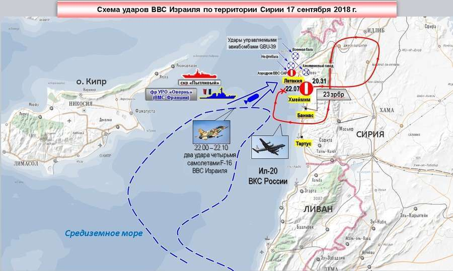 Russia\'s Claim That Israeli F-16s Used Their Doomed Il-20 Spy Plane ...