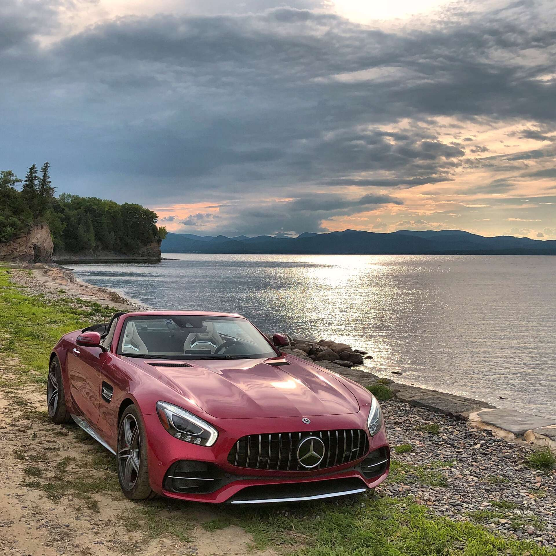 2018 Mercedes-AMG GT C Roadster Test Drive Review: Benz's