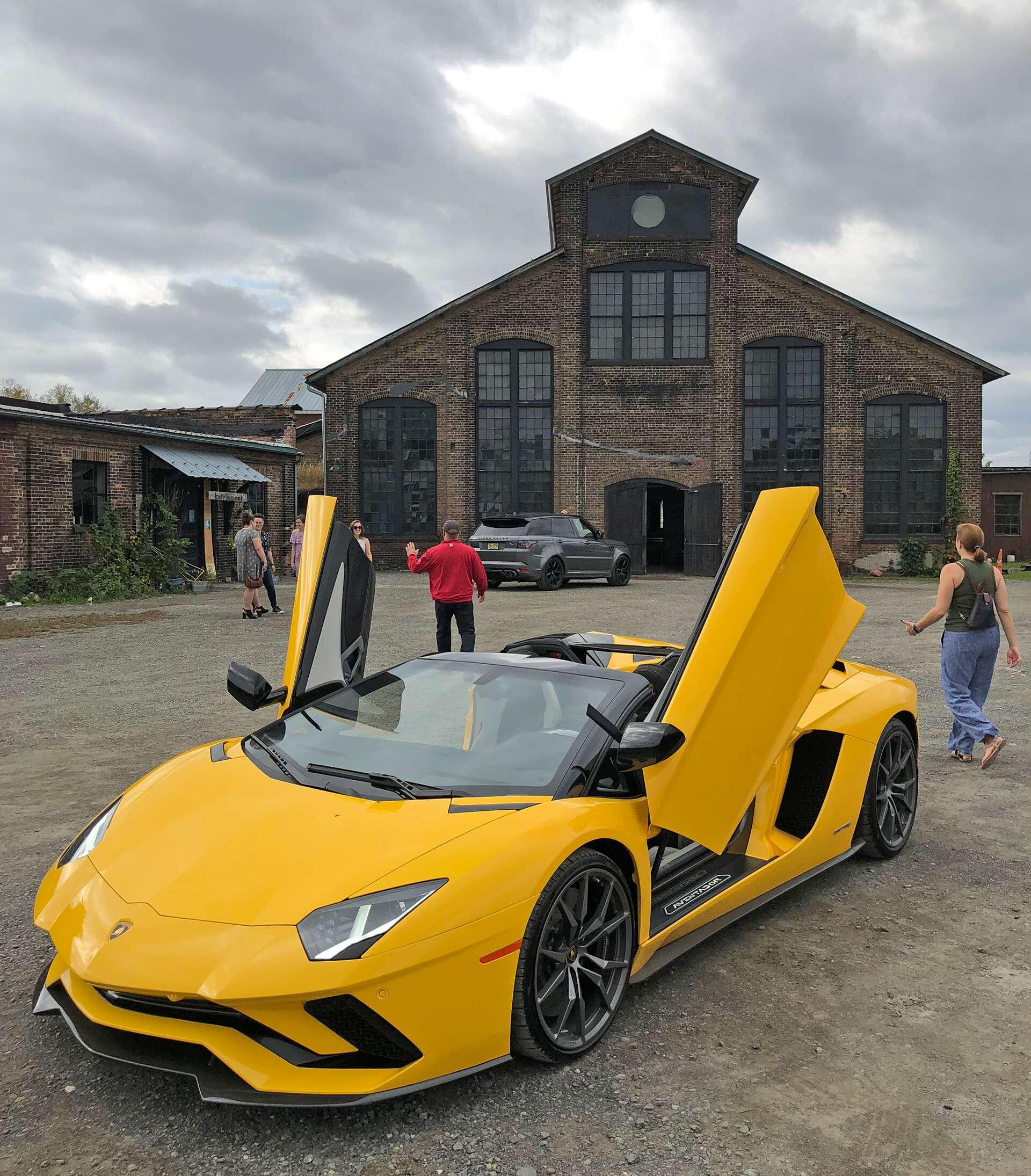 The 2018 Lamborghini Aventador S Roadster Instantly Makes