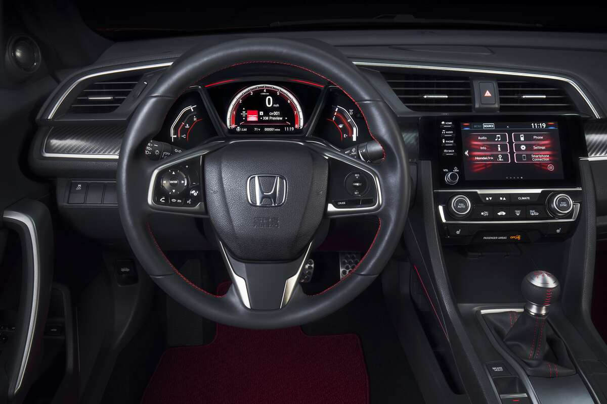 2019 honda civic si a volume knob brings this civic. Black Bedroom Furniture Sets. Home Design Ideas