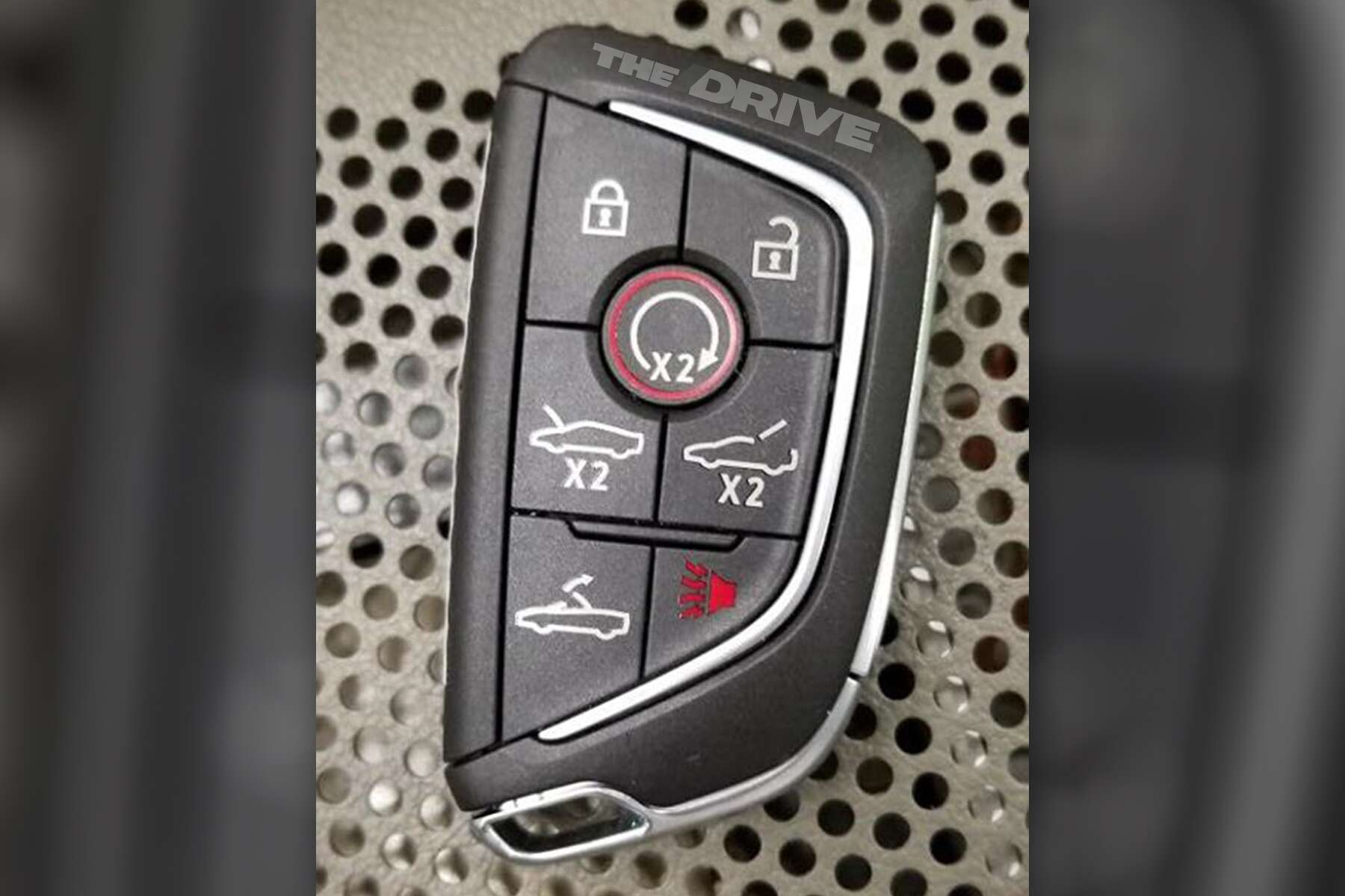 Mid Engined Cadillac Convertible Leaked Key Fob Suggests Corvette