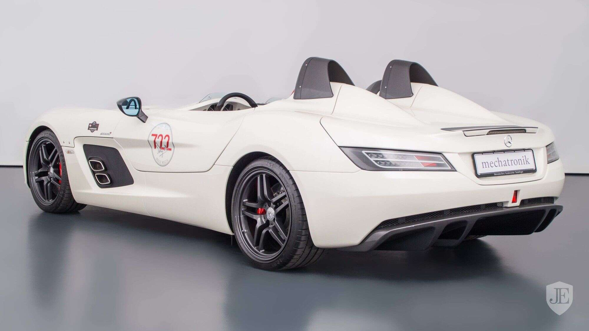 ultra-rare mercedes-benz slr mclaren stirling moss listed for sale