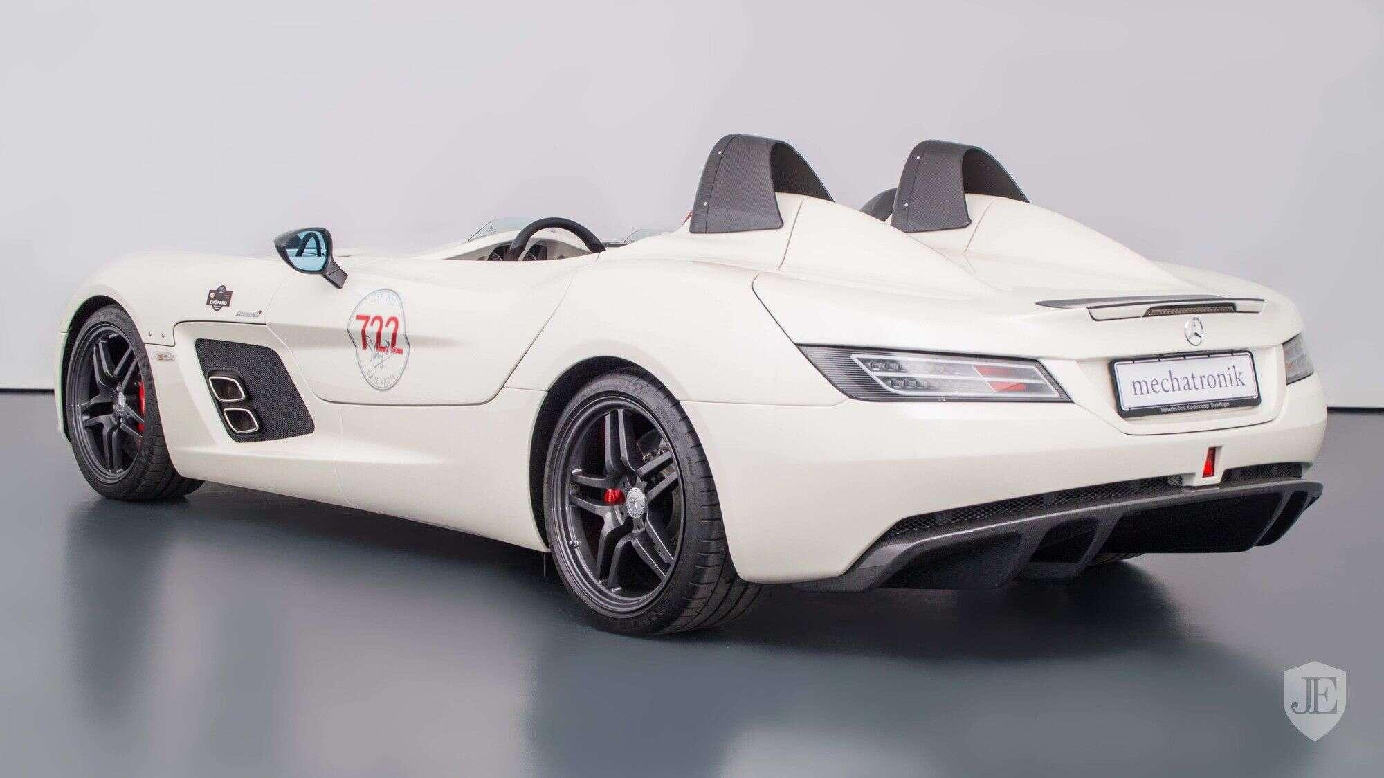 Ultra Rare Mercedes Benz Slr Mclaren Stirling Moss Listed For Sale