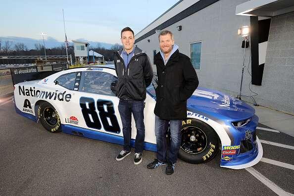 Alex Bowman Unveils 2019 NASCAR Nationwide Chevrolet Paint ...
