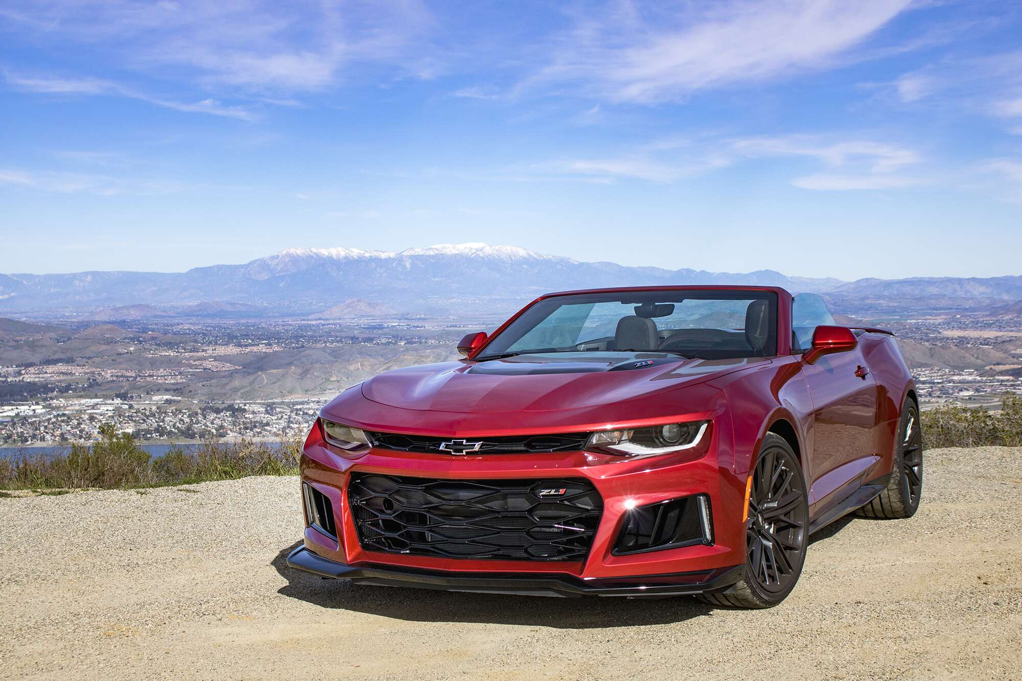 2019 Chevrolet Camaro ZL1 Convertible Review: America in a ...