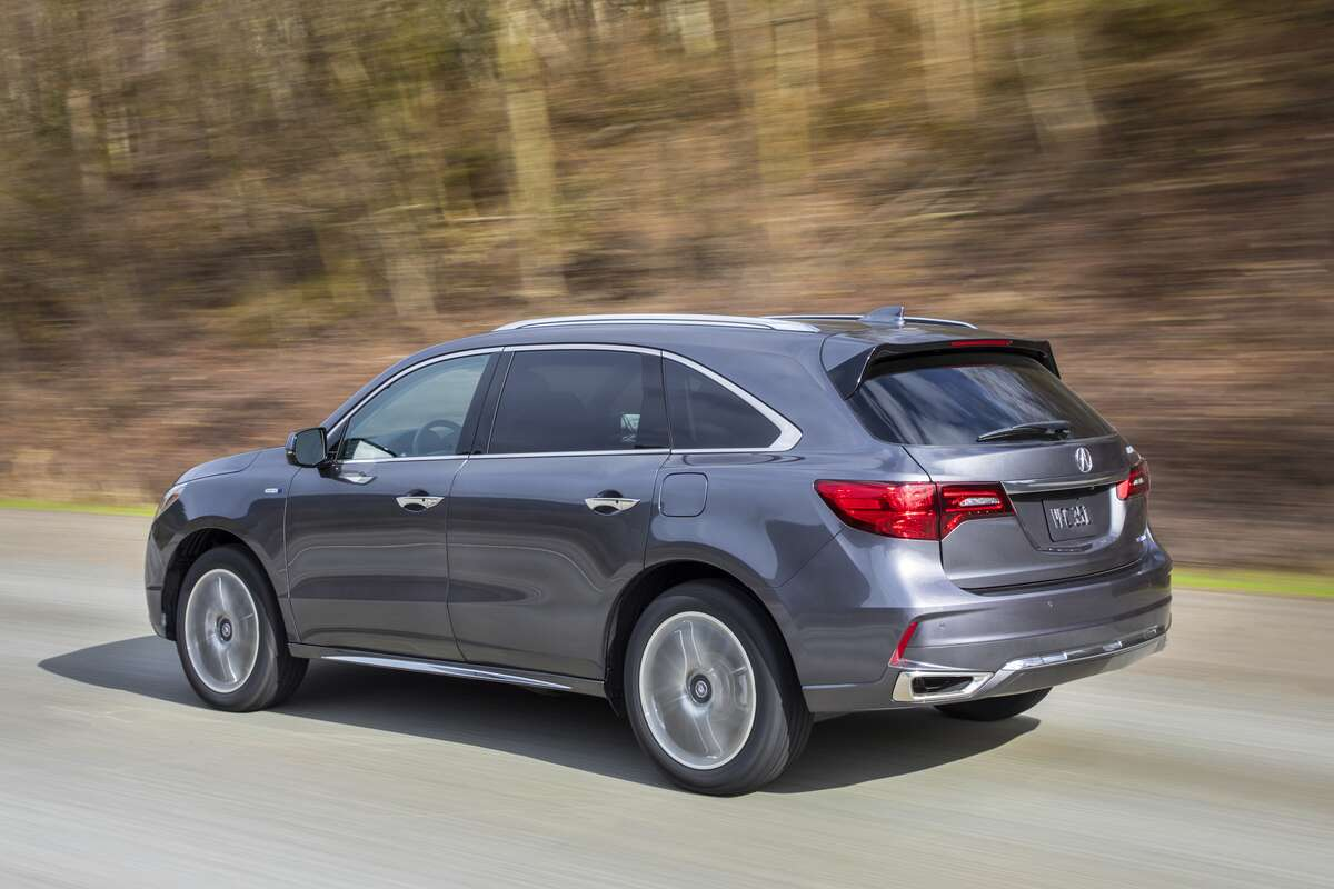 2017 acura mdx sport hybrid review nailing performance trailing in luxury the drive. Black Bedroom Furniture Sets. Home Design Ideas