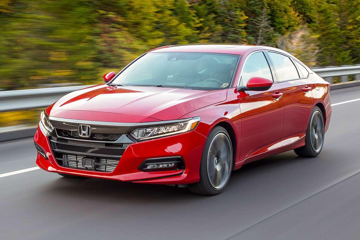 Can the all new 2018 honda accord save the sedan for Honda accord sport 0 60