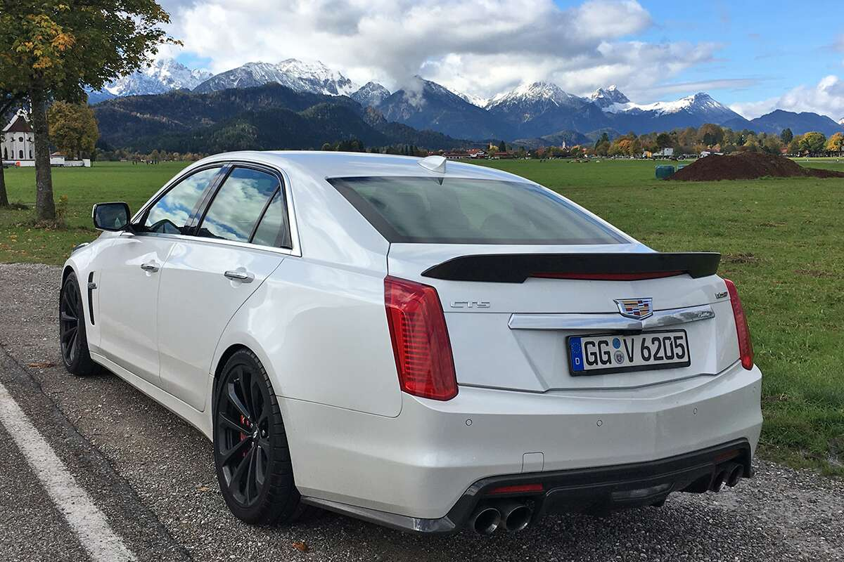 The 2017 Cadillac CTS-V Germany Review: Crushing the ...