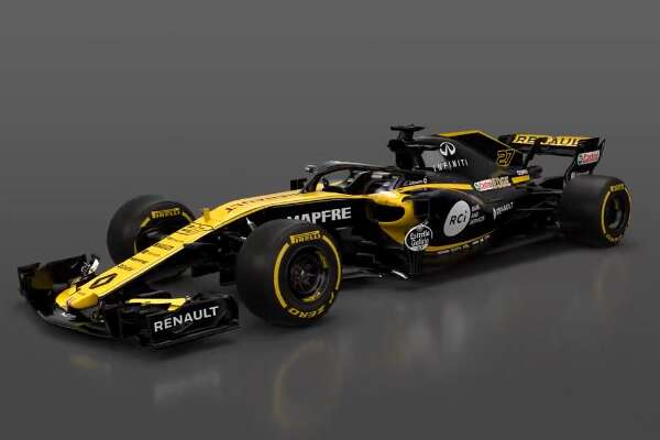 say good morning to the renault sport r formula 1 car the drive. Black Bedroom Furniture Sets. Home Design Ideas