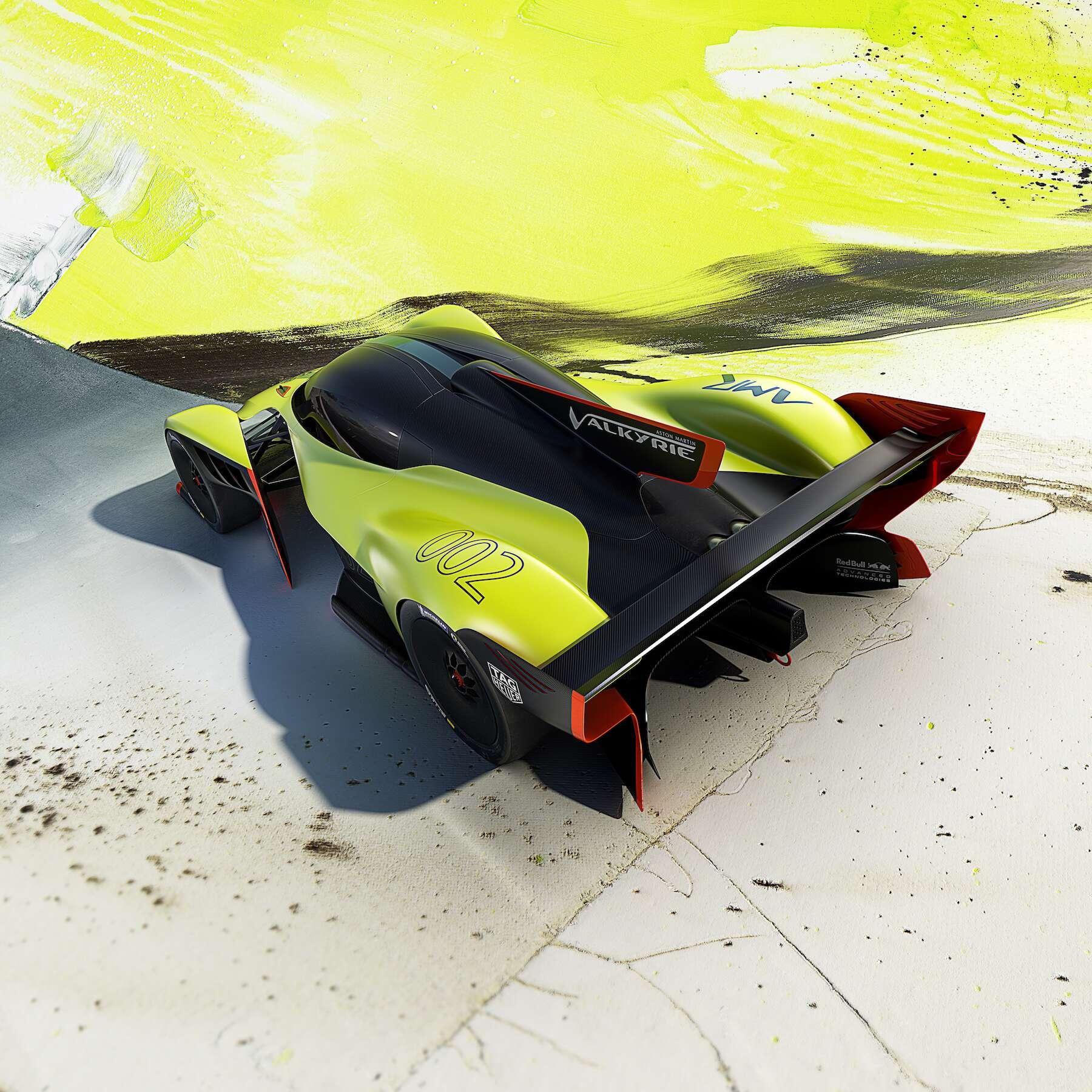 Aston Martin Valkyrie Rear
