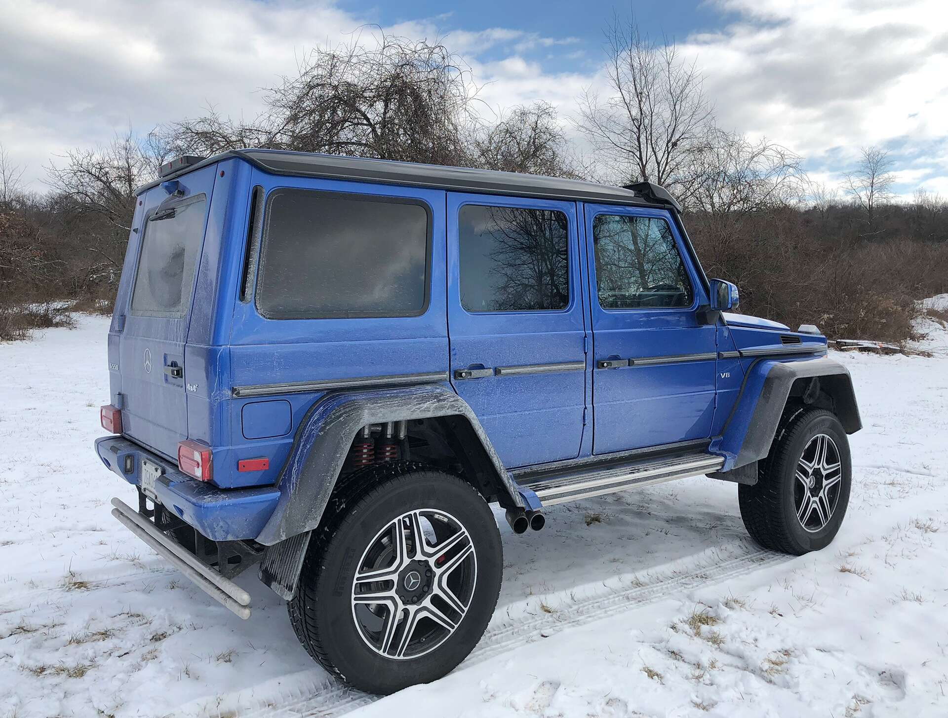 2018 mercedes benz g550 4x4 squared review 230 000 and. Black Bedroom Furniture Sets. Home Design Ideas