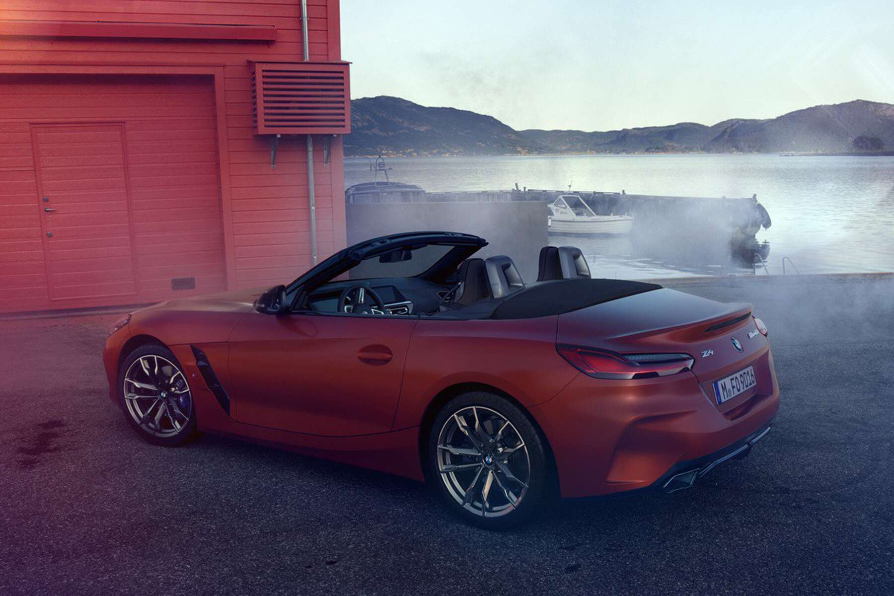 New 2019 BMW Z4 Roadster Leaks Ahead Of Official Pebble ...