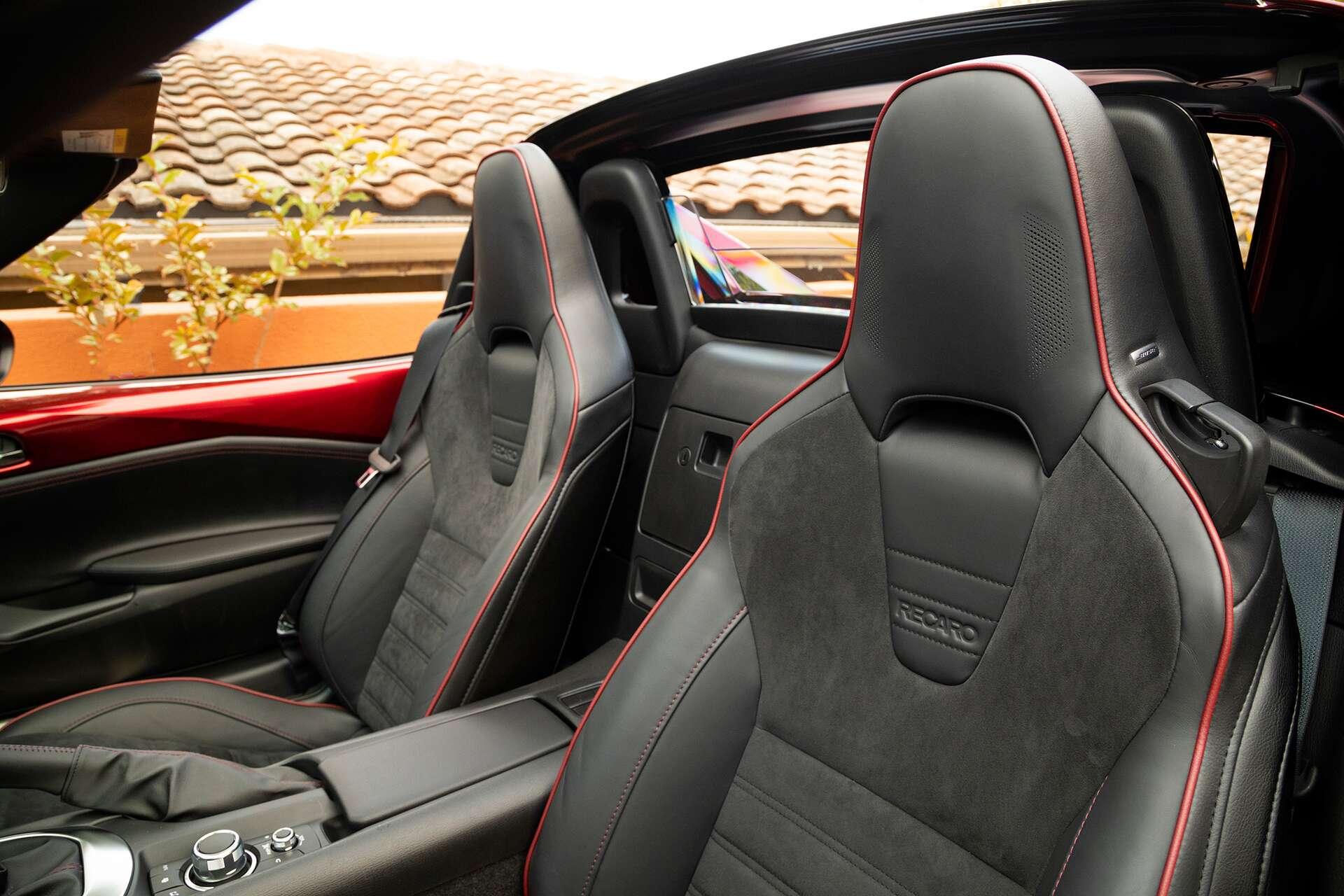 2019 mazda mx 5 rf club test drive review more horsepower. Black Bedroom Furniture Sets. Home Design Ideas