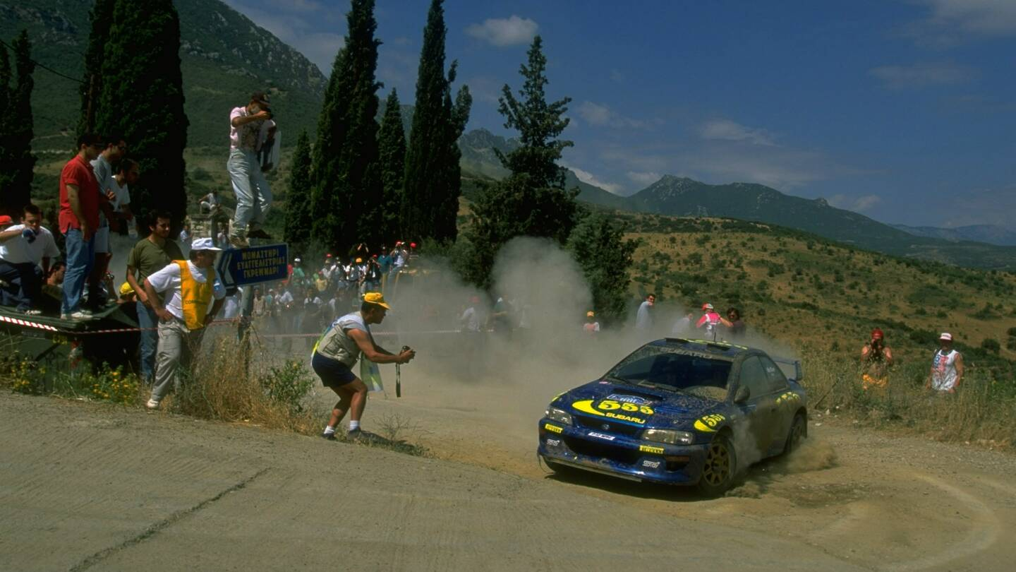 Colin McRae\'s WRC Subaru Impreza Rally Car Listed For Sale - The Drive