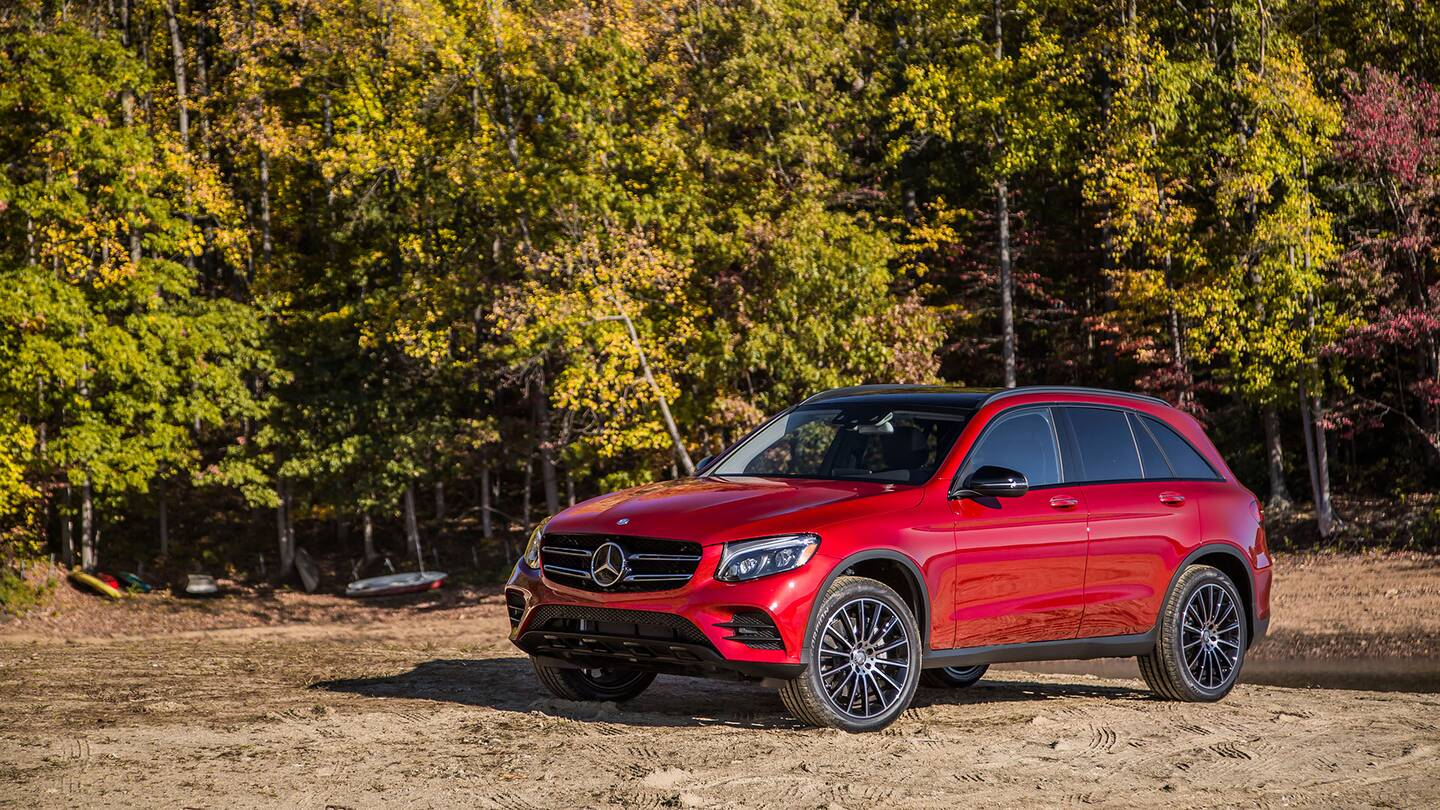 The mercedes benz glc is actually pretty good off road for Is a mercedes benz a good car
