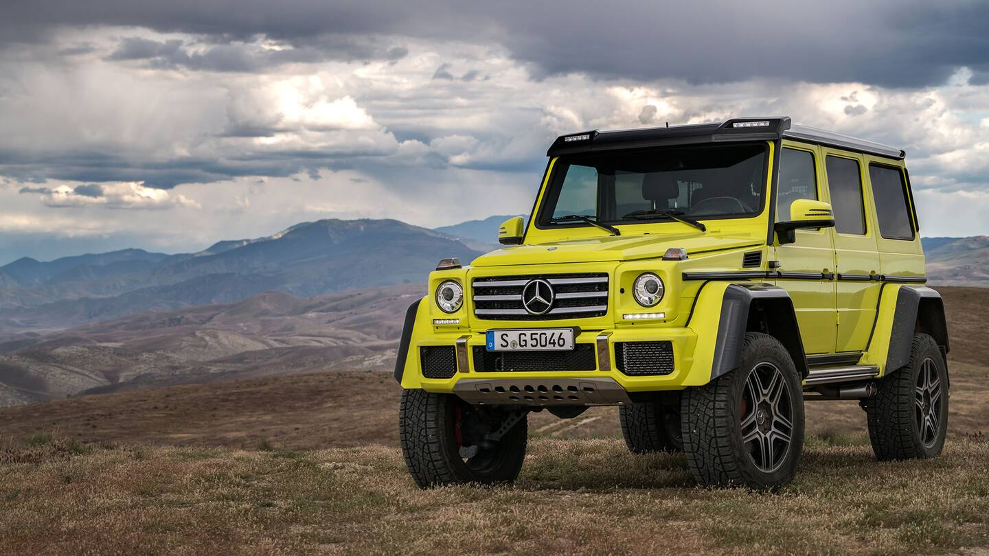 Testing fate and faultlines with the 416 hp mercedes g500 for Mercedes benz 4x4 squared