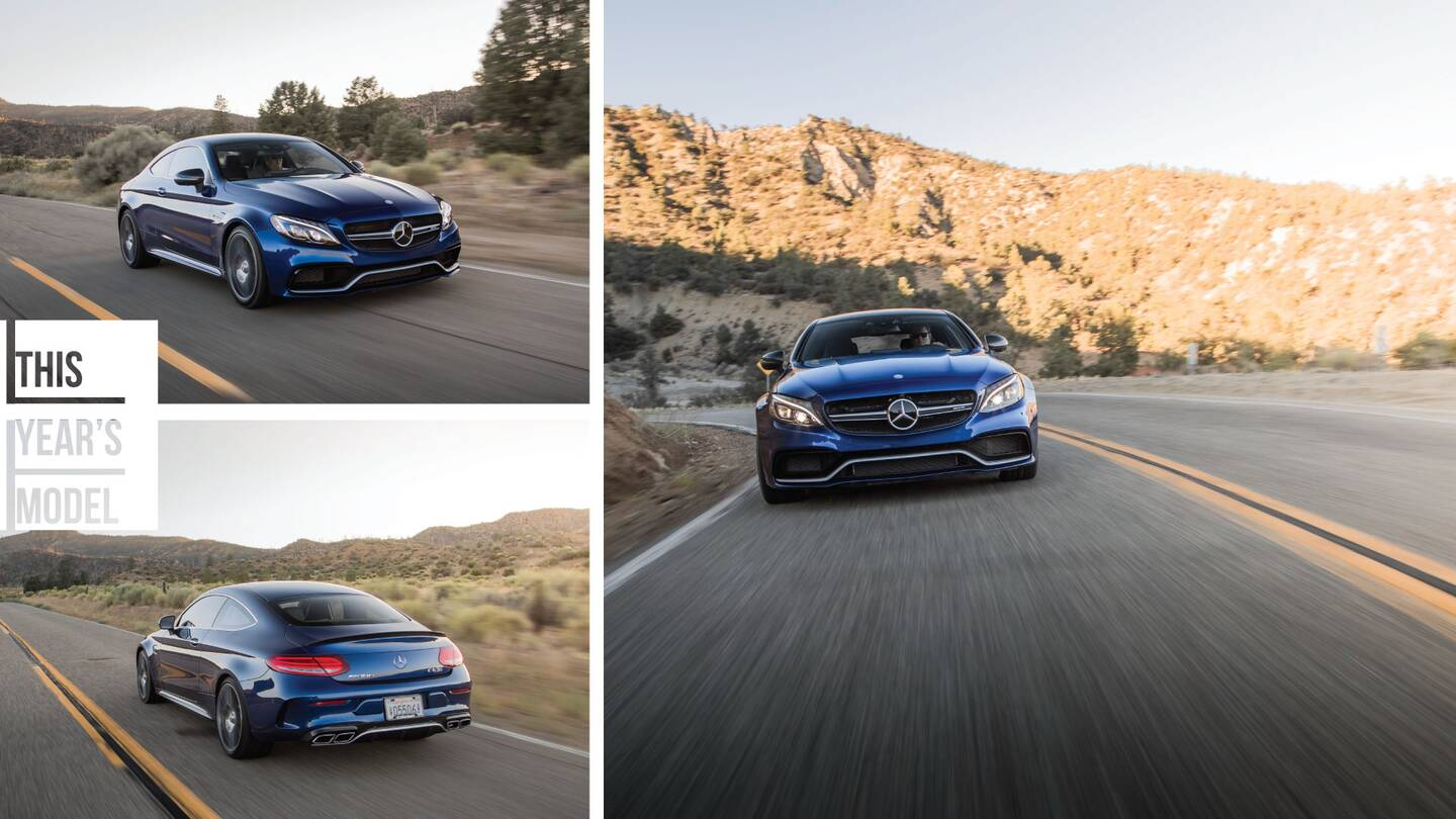 The Mercedes Benz Amg C63 S Is A Brute In A Suit The Drive