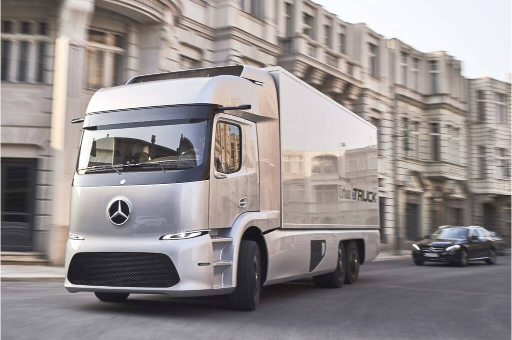 Mercedes Benz Electric Truck The Drive