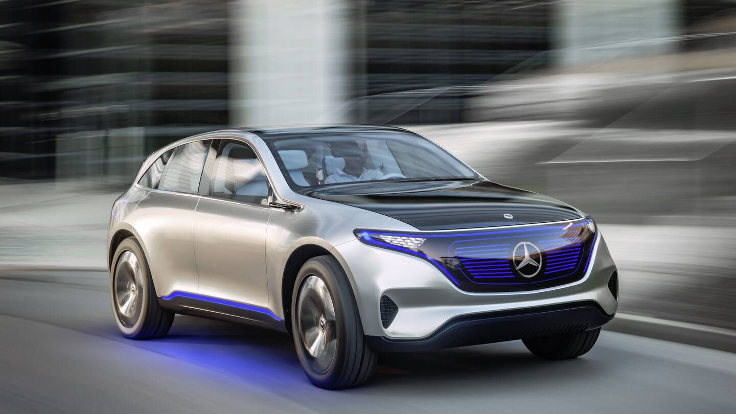 Mercedes benz generation eq concept previews daimler 39 s new for Mercedes benz brand image