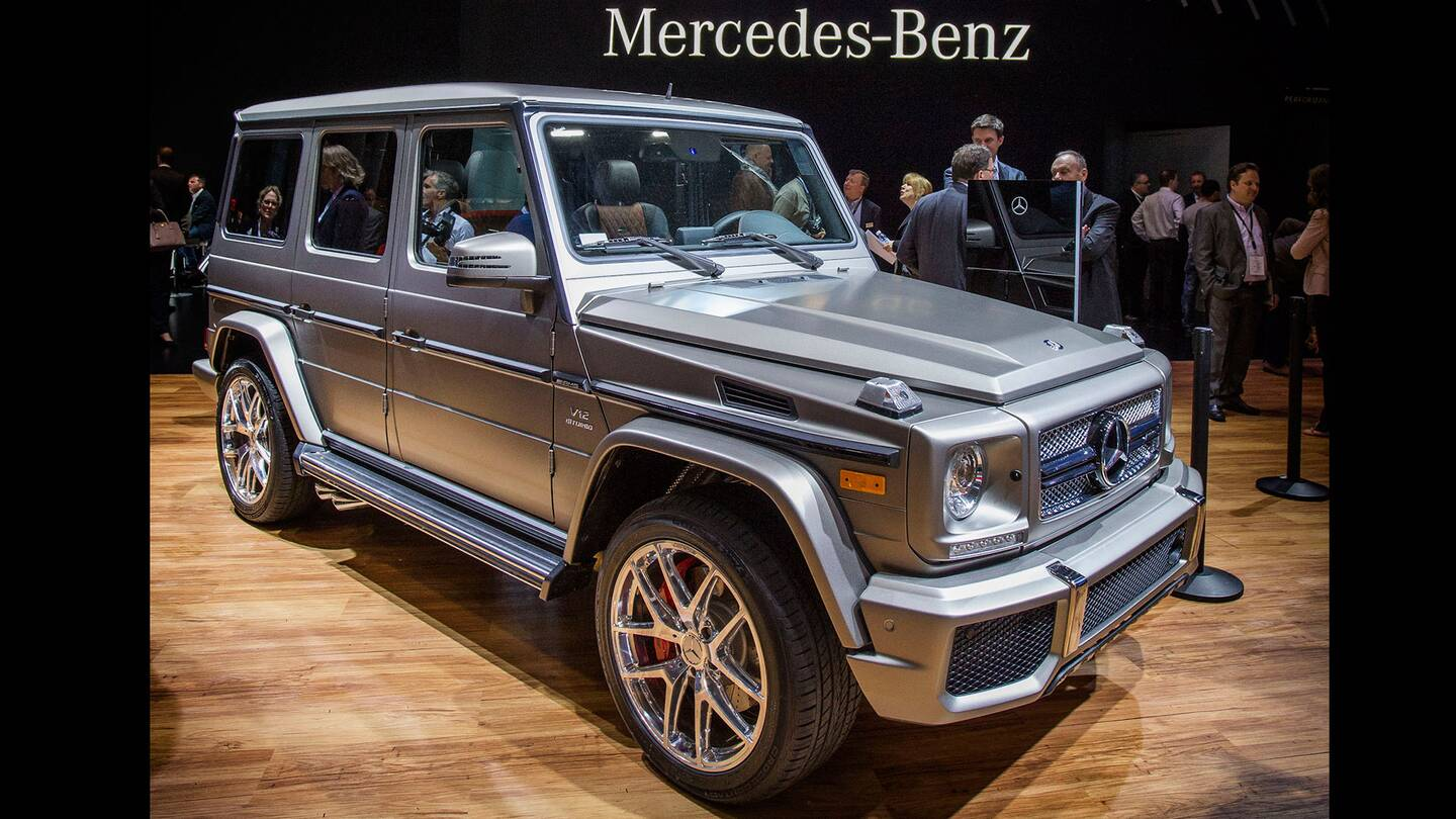 Mercedes benz g65 amg the stats they won t tell you the for Mercedes benz g65 price