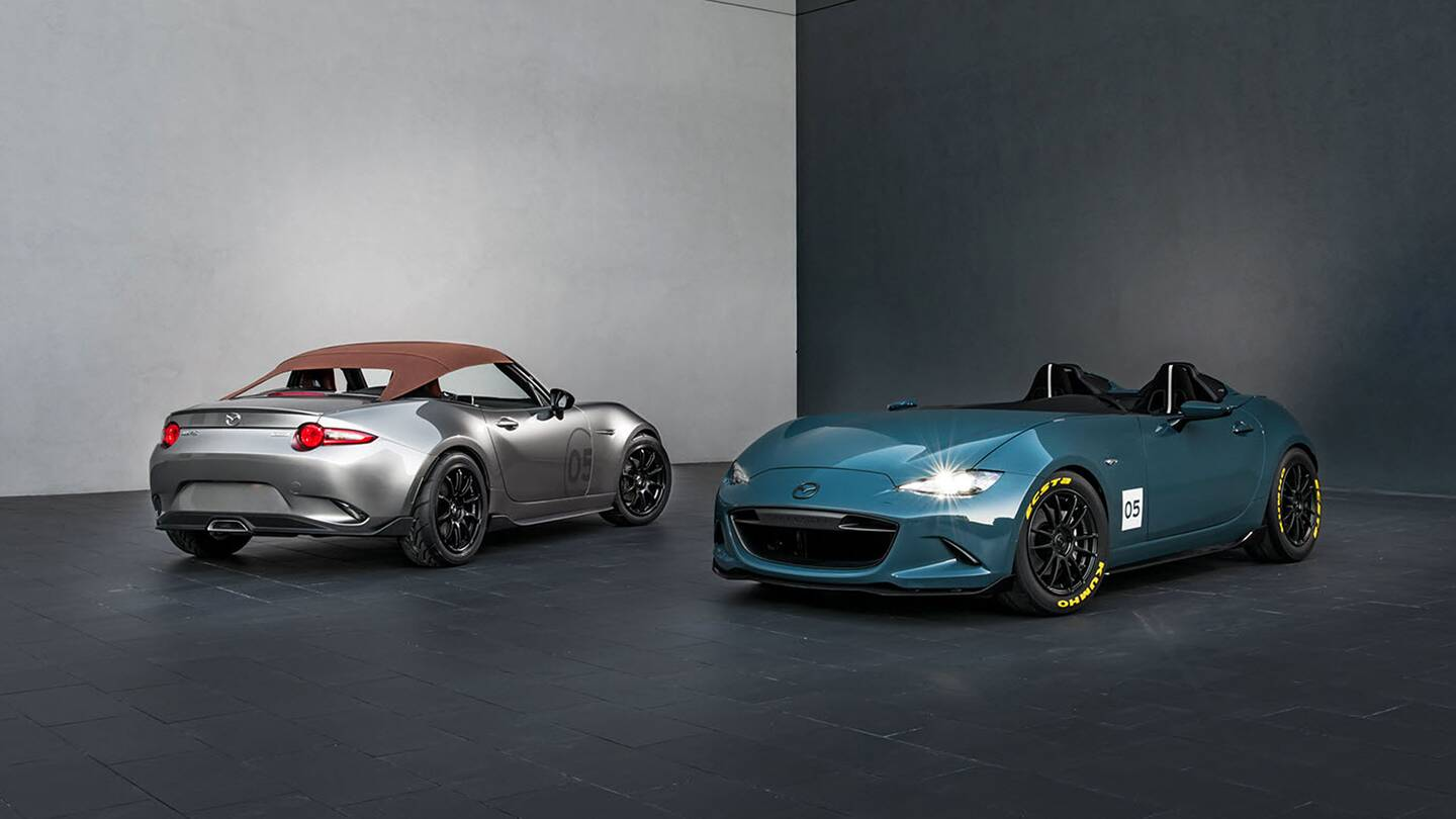 Mazda Miata Speedster and Spyder Concepts Are the Best Things at ...