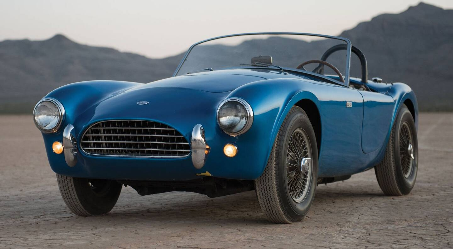 First Shelby Cobra Ever Built Breaks Auction Records at Monterey ...
