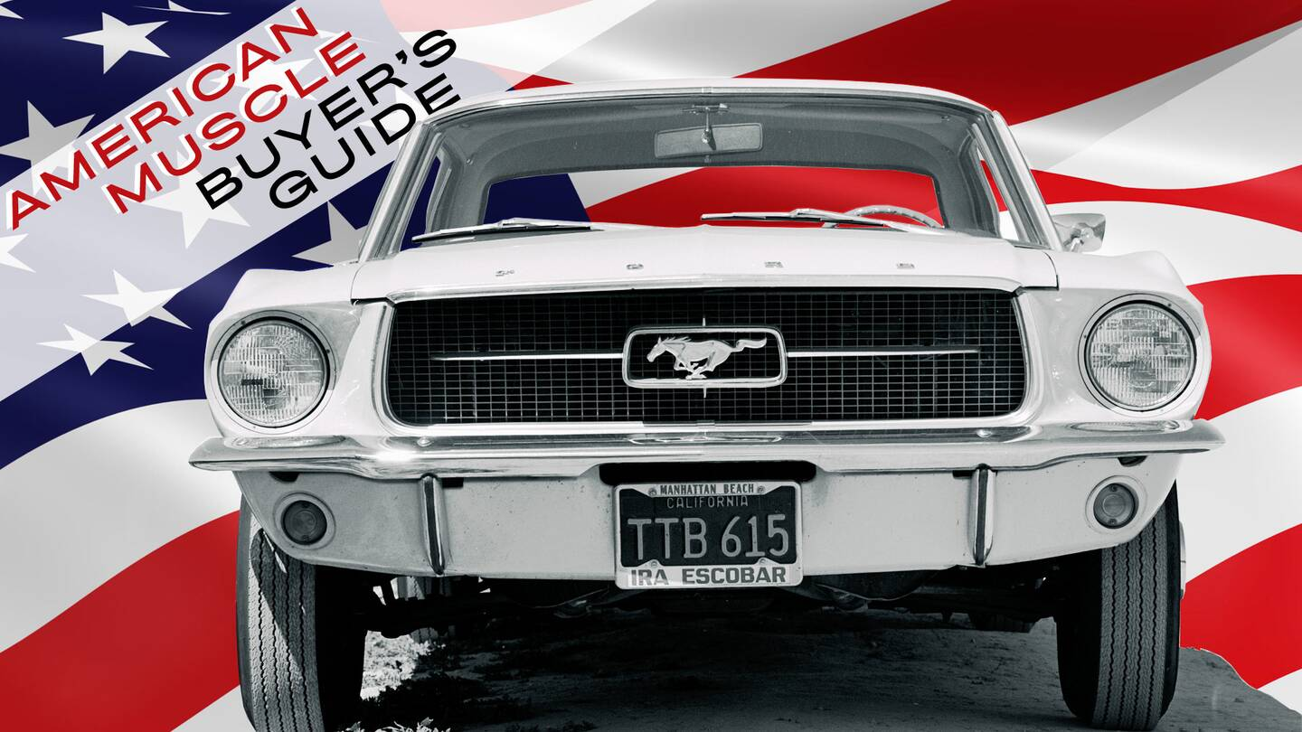 The Buyer\'s Guide to Vintage American Muscle Cars - The Drive