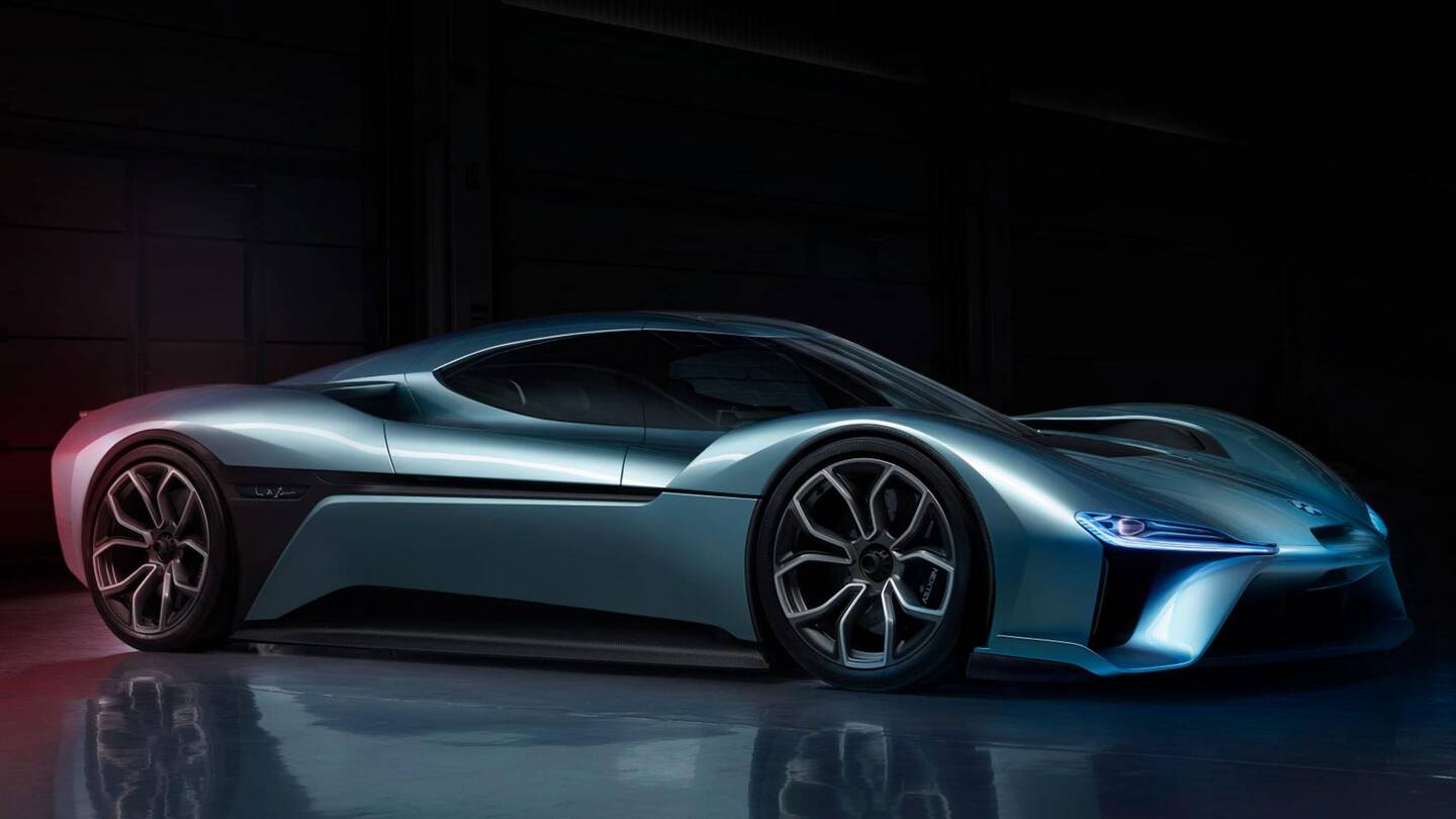 Did Nextev S New 1 360 Hp Nio Ep9 Electric Supercar Set A Nurburgring Record