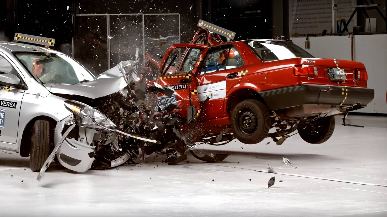 Nissan Tsuru Vs. Sentra Crash Test Shows Why You Shouldn\'t Sell 25 ...