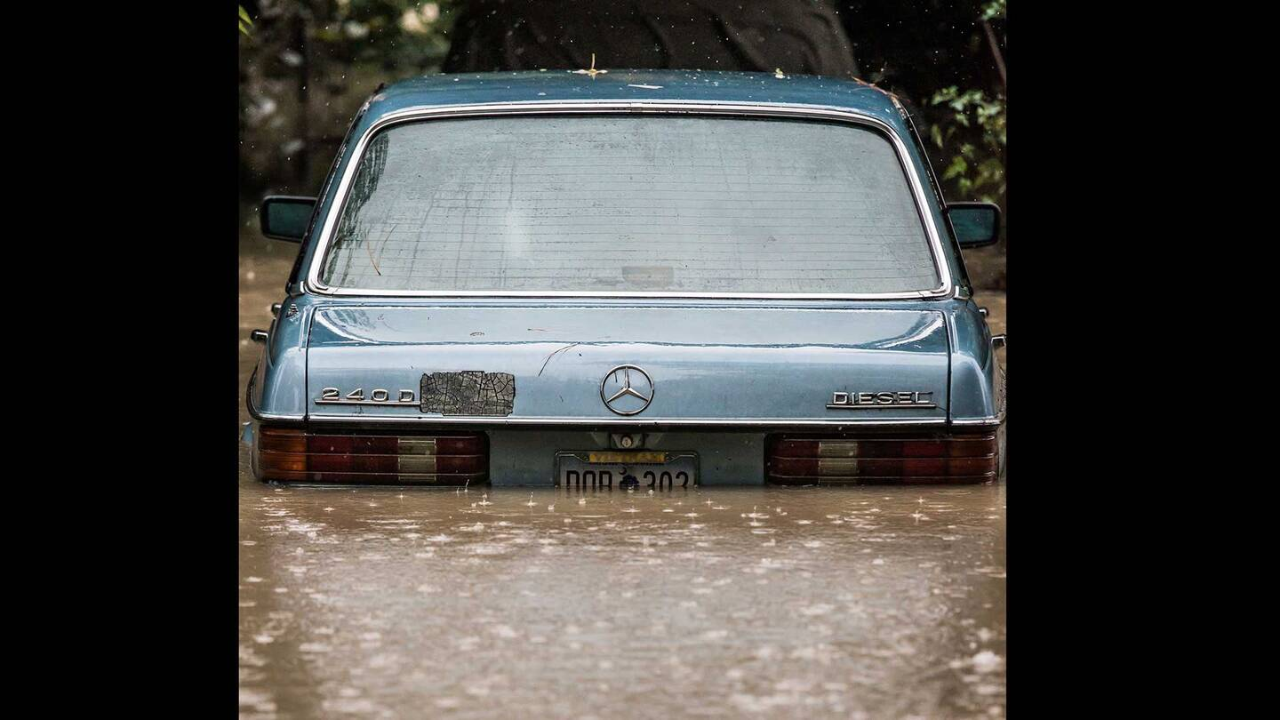 Please, Look at This Sinking Mercedes in South Carolina - The Drive