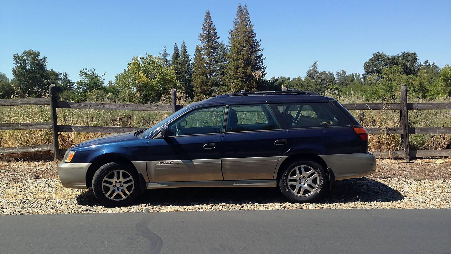 the subaru outback is the perfect car the drive. Black Bedroom Furniture Sets. Home Design Ideas
