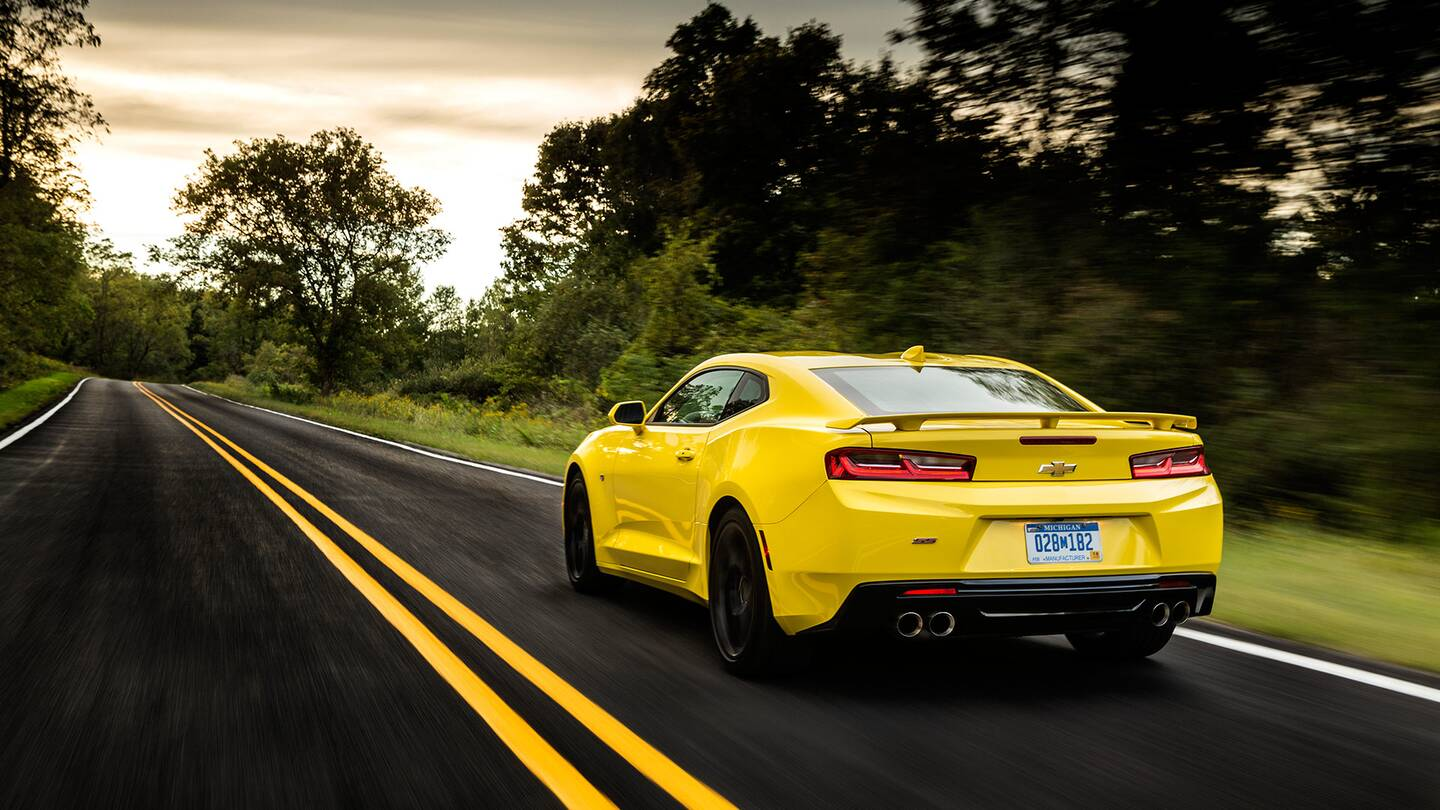 Camaro, Mustang and the New Golden Age of American Muscle Cars - The ...