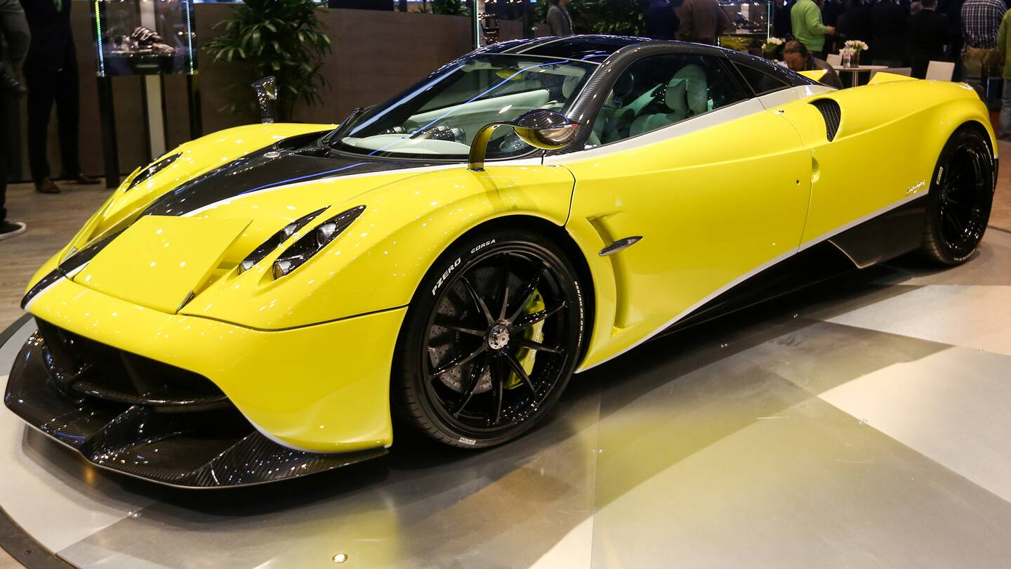 11 Great Cars Cheaper Than the Pagani Huayra\'s New Handling Pack ...