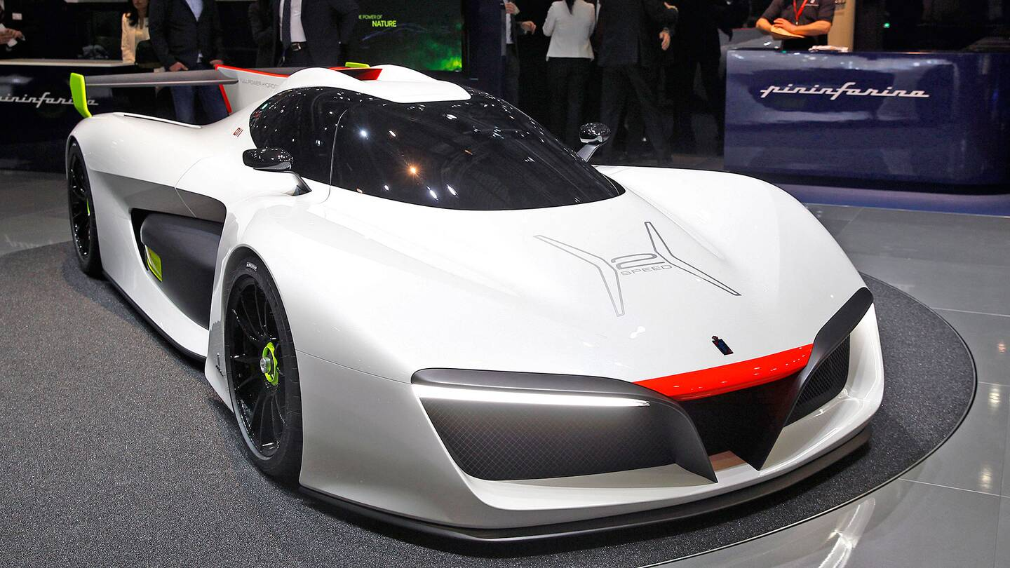 Pininfarina Is Building 10 Hydrogen-Powered Supercars—at $2.5 ...