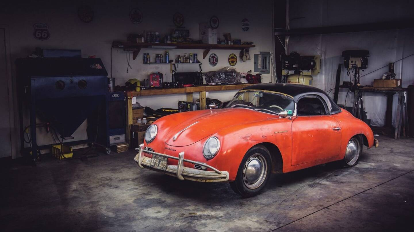 This Custom Air-Cooled Porsche Barn Find Spent 40 Years Sitting ...