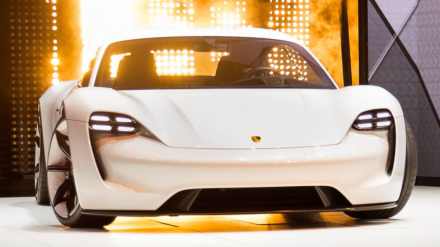 Porsche Aiming To 20 000 Mission E Electric Cars A Year