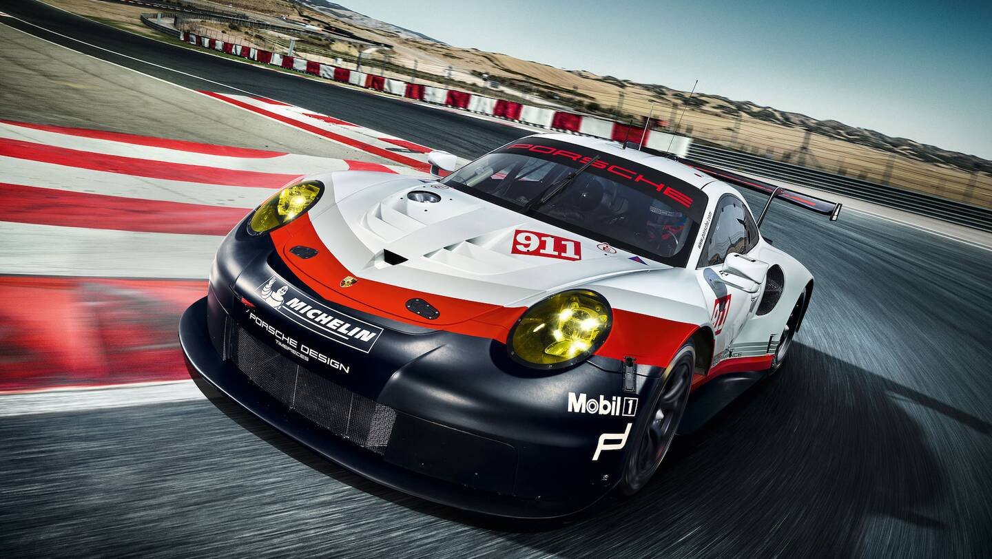 This Is the New Mid-Engined Porsche 911 RSR Race Car - The Drive