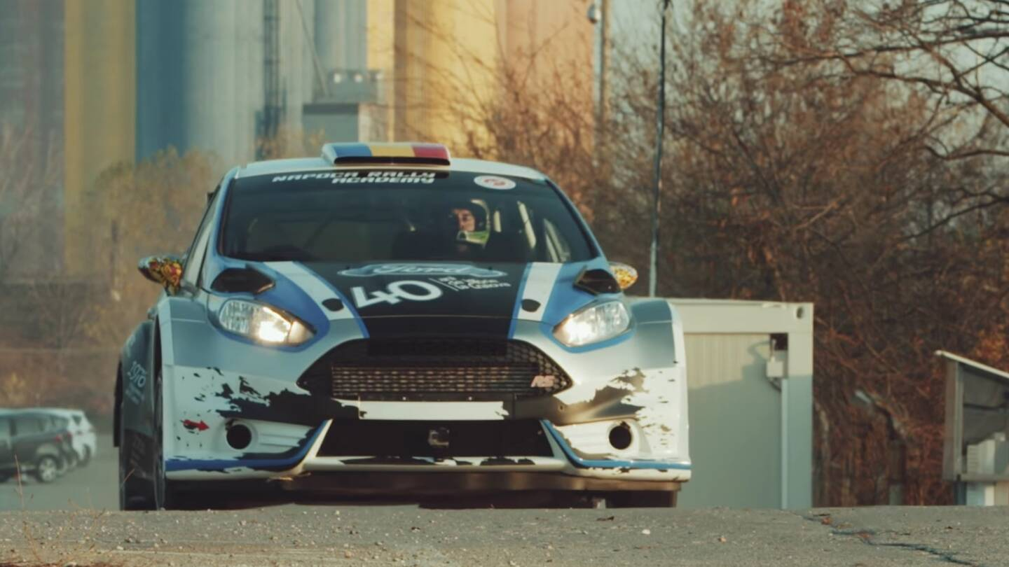 This Ford Fiesta Rally Car Gymkhana Video Doesn\'t Need Ken Block to ...