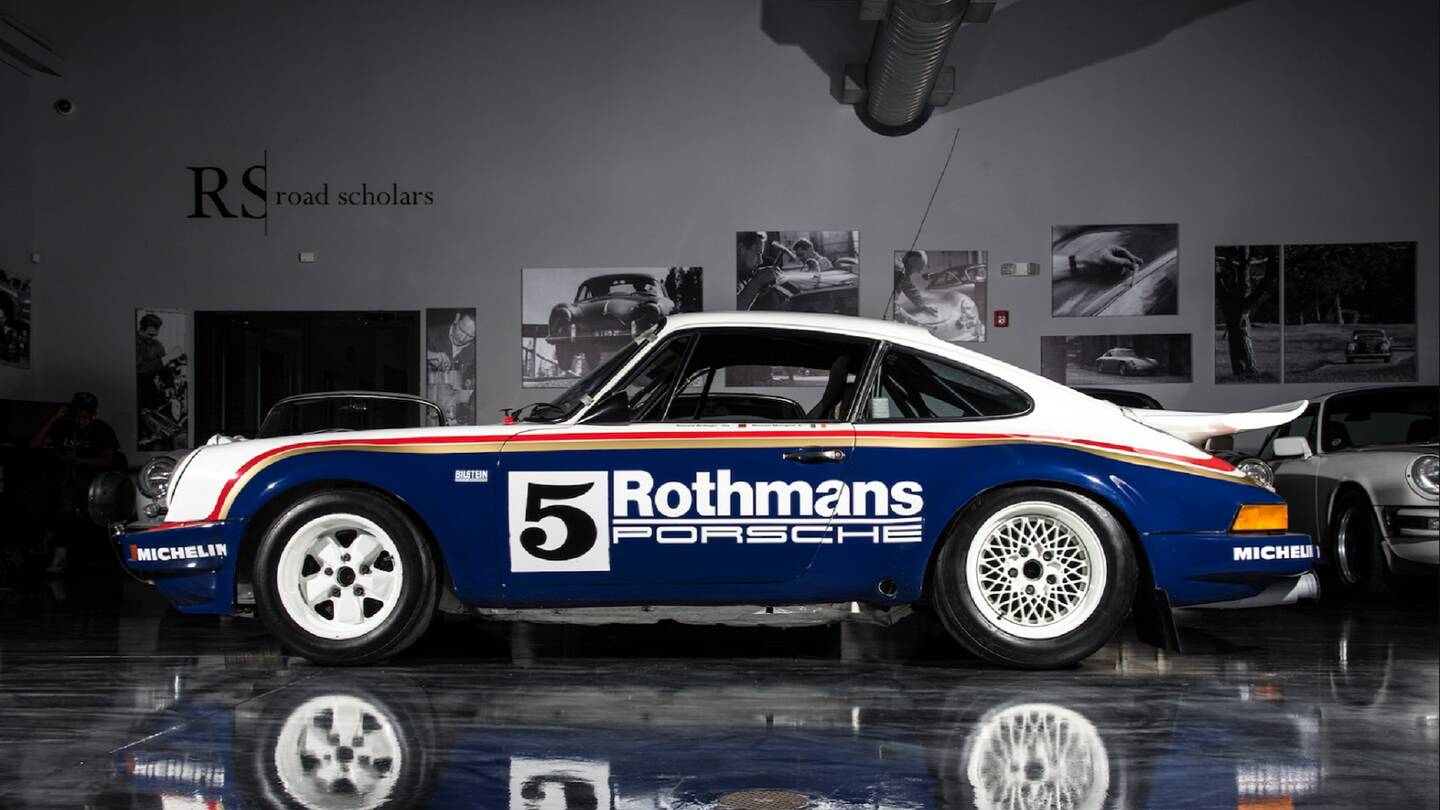 Porsche SC/RS Rally Car: A Tale Of Two Rothmans - The Drive