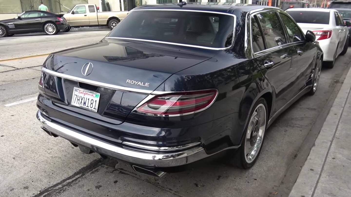 check out the mythical mercedes-benz s600 royale from every angle